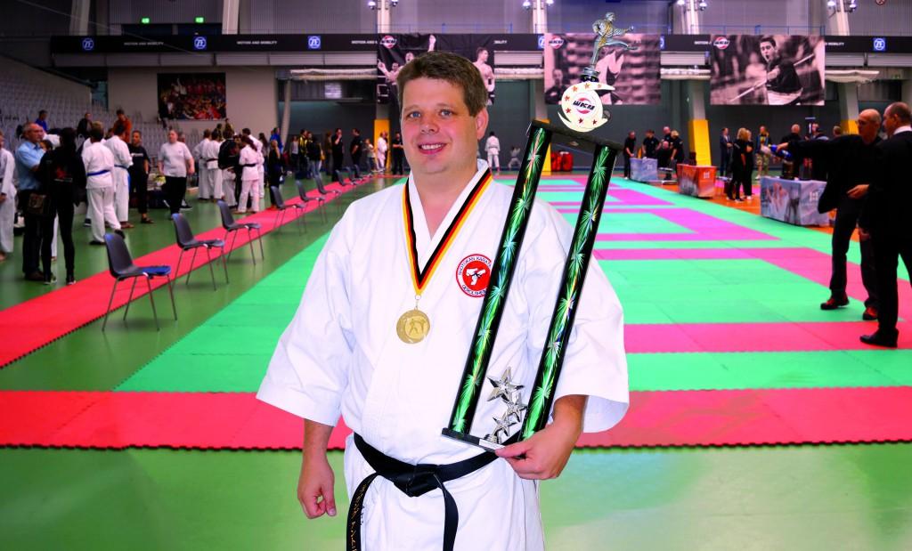 Deutscher Meister im Karate 2015 - Wolfgang Anthony Eiden